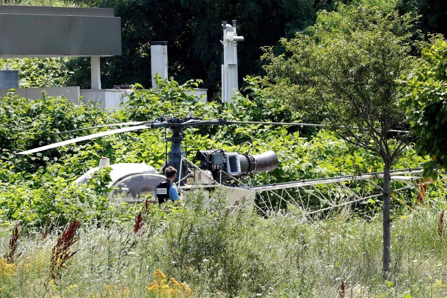 <p>Den Hubschrauber fand die Polizei später in Gonesse