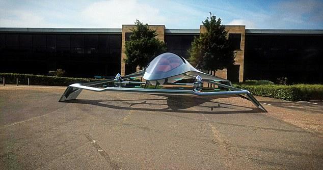 <p>Der Aston Martin Volante Vision Concept – ein autonomes Luxus-Kleinstflugzeug mit Hybridantrieb für drei Passagiere.</p> Foto: Hersteller