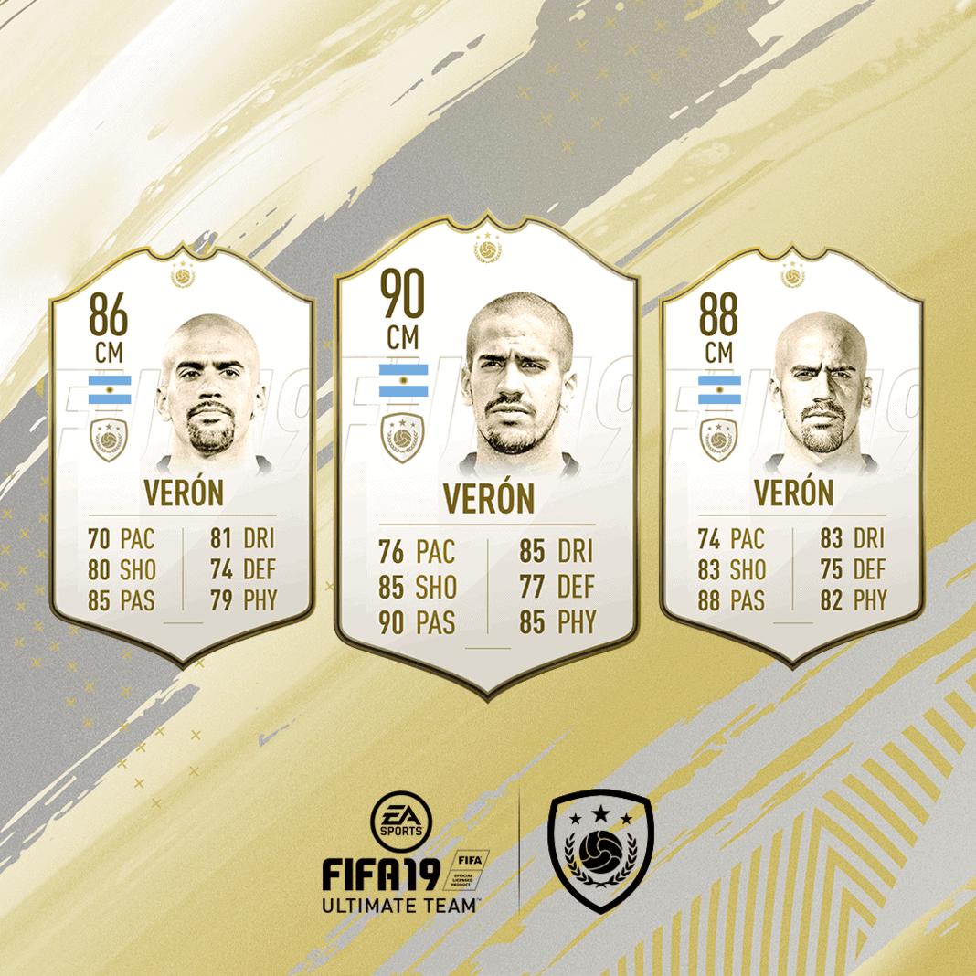 FIFA 19 Icon Juan Veron
