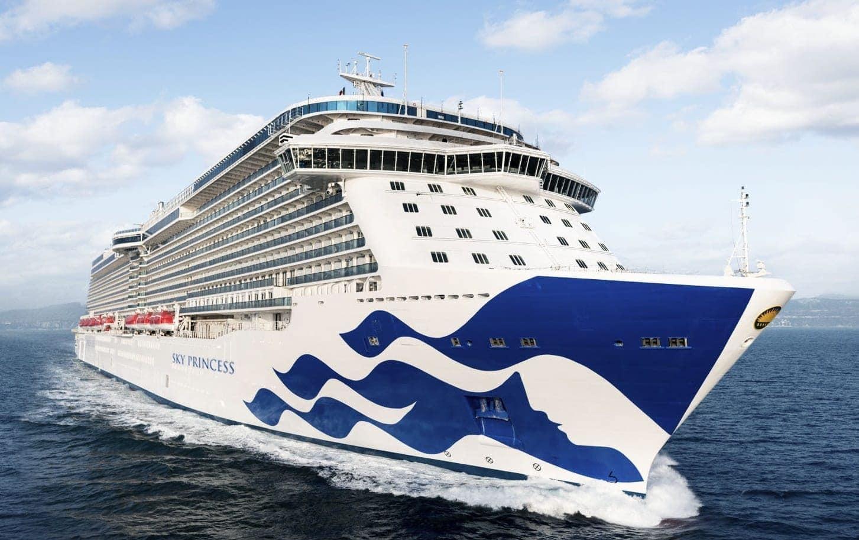 Kreuzfahrtschiff Princess Cruises Sky Princess