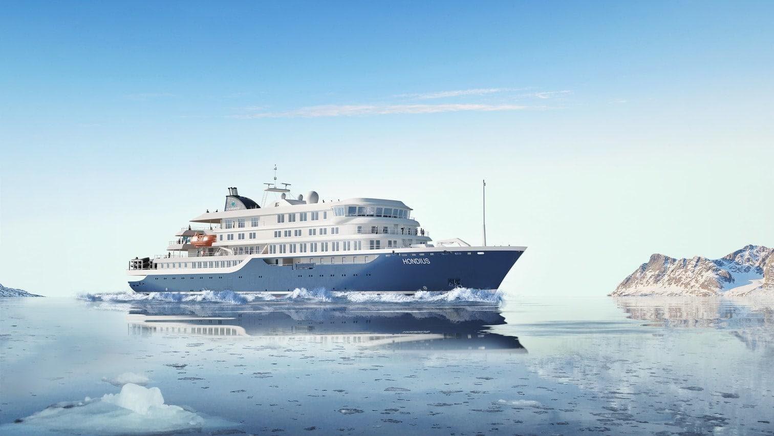 Kreuzfahrtschiff Oceanwide Expeditions Hondius