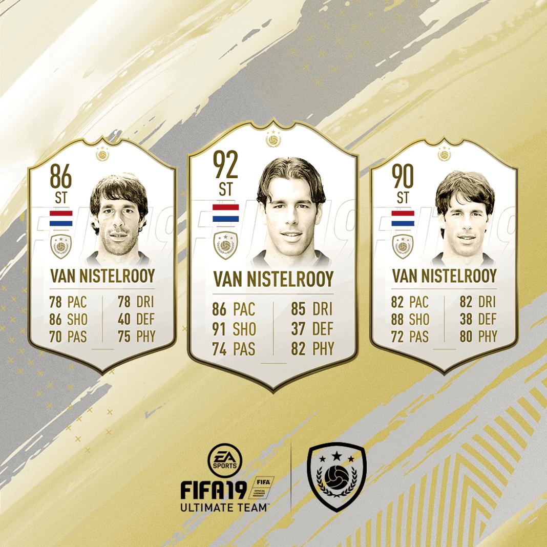 FIFA 19 Icon Ruud van Nistelrooy