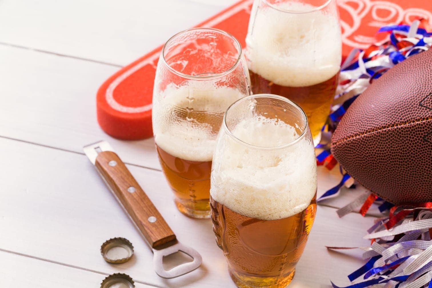 American Football Bier