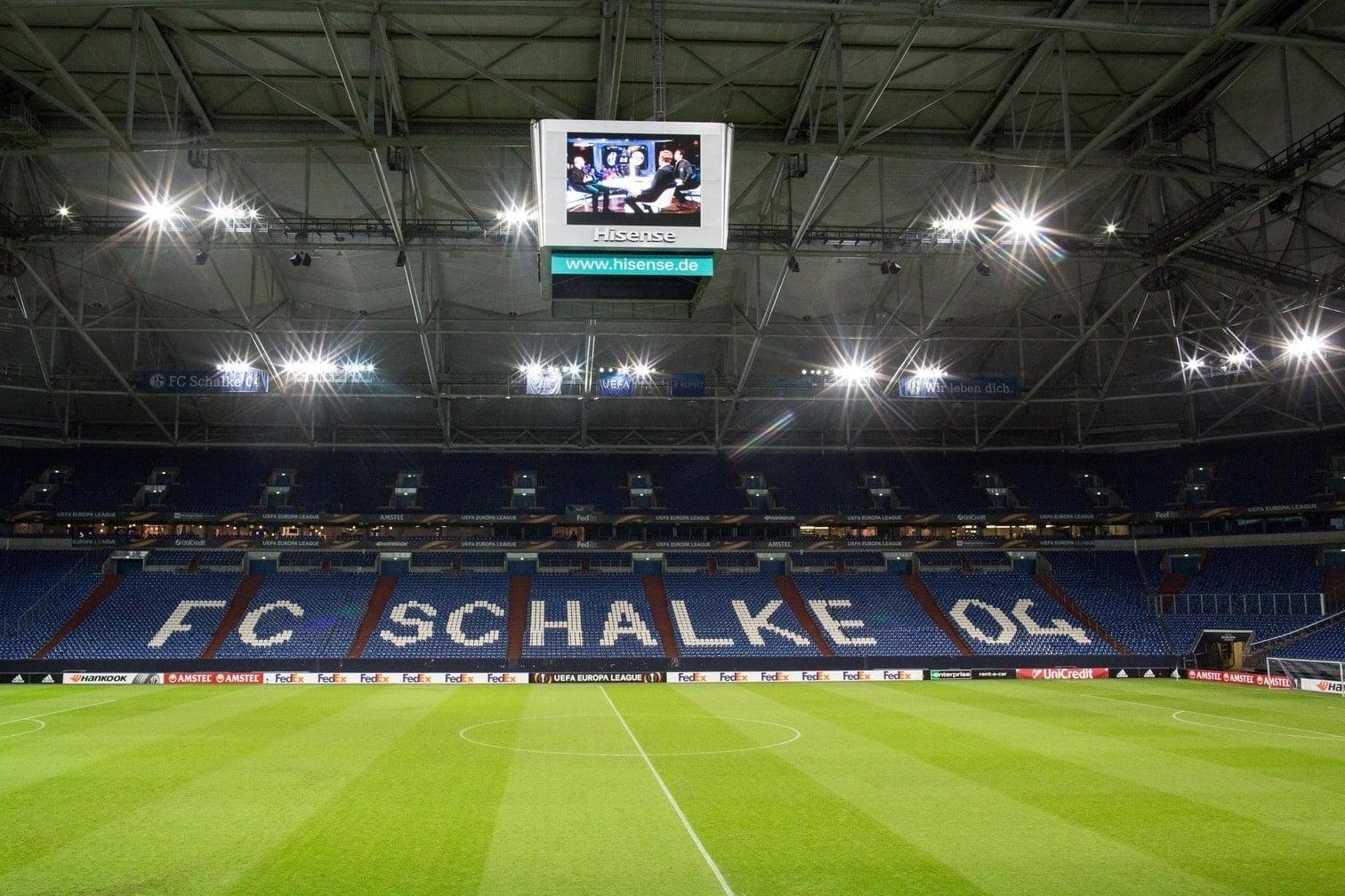 BVB Stadion<br />Kapazität: 61.524 Zuschauer<br />6 Spiele</p> Foto: dpa/Christian Charisius