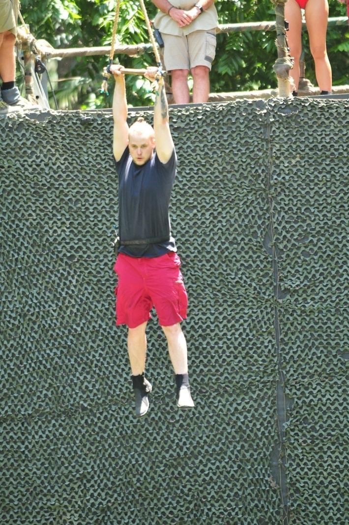 <p>Immerhin: Bastian holte im zweiten Anlauf den ersten Stern für das Team.</p> Foto: TVNOW / Stefan Menne