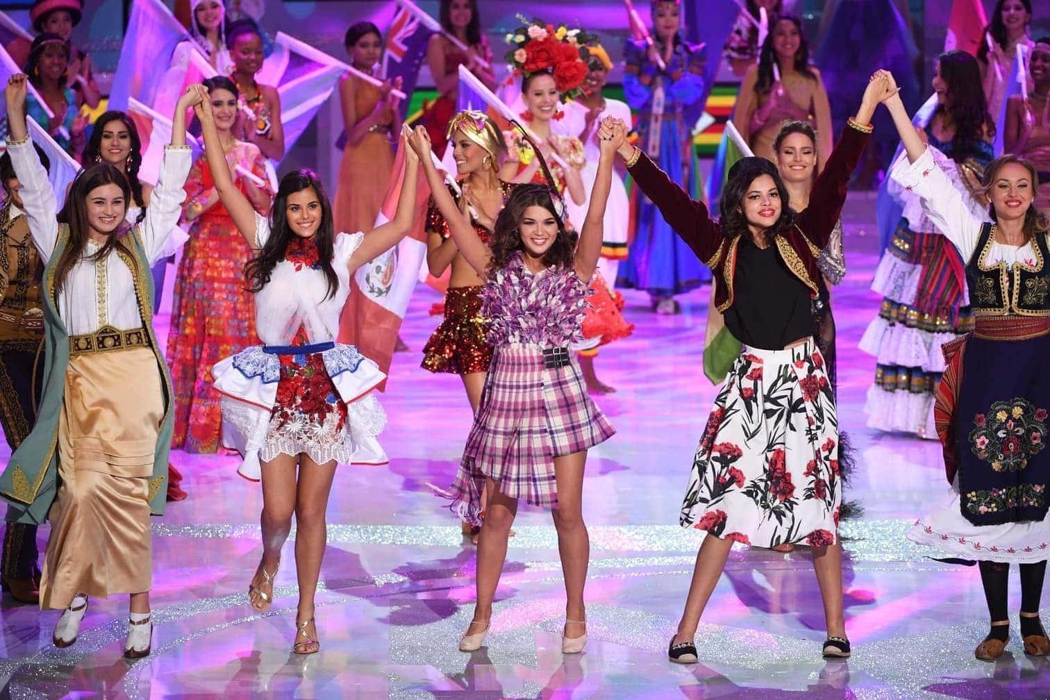 """gekrönt. Beim 68. Durchlauf des Wettbewerbs hatten 118 Frauen um den Titel der """"Miss World"""" gekämpft.</p> Foto: AFP/Greg Baker"""