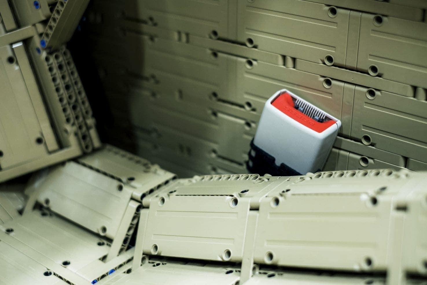 <p>Auch im Inneren wurde nahezu jedes Detail berücksichtigt.</p> Foto: The LEGO Group