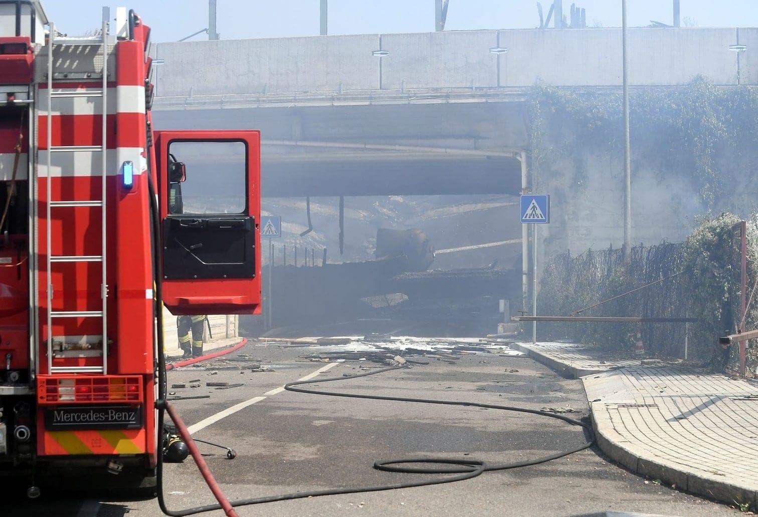 sie haben mehrere Einheiten zum Unfallort geschickt.&nbsp;</p> Foto: AFP
