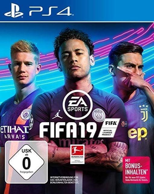 Cover FIFA 19 Neymar