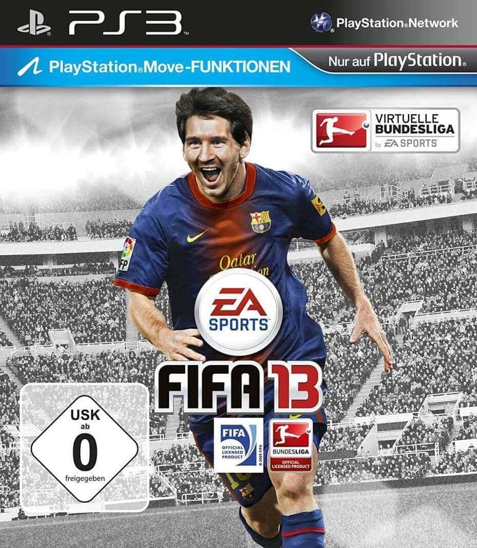Cover FIFA 13