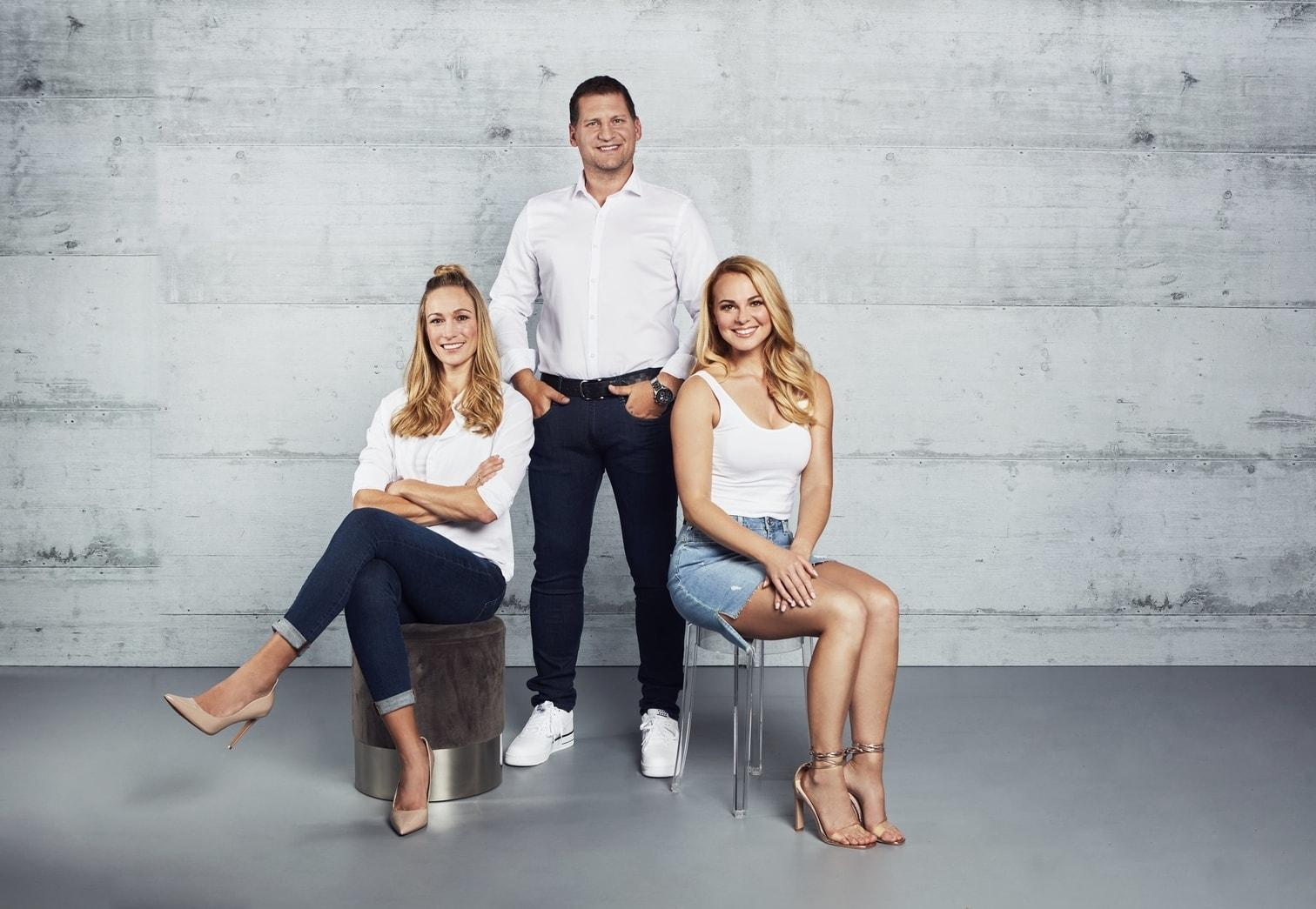 Sat.1-Show The Biggest Loser 2019 Mareike Spaleck Ramin Abdic Christine Theiss