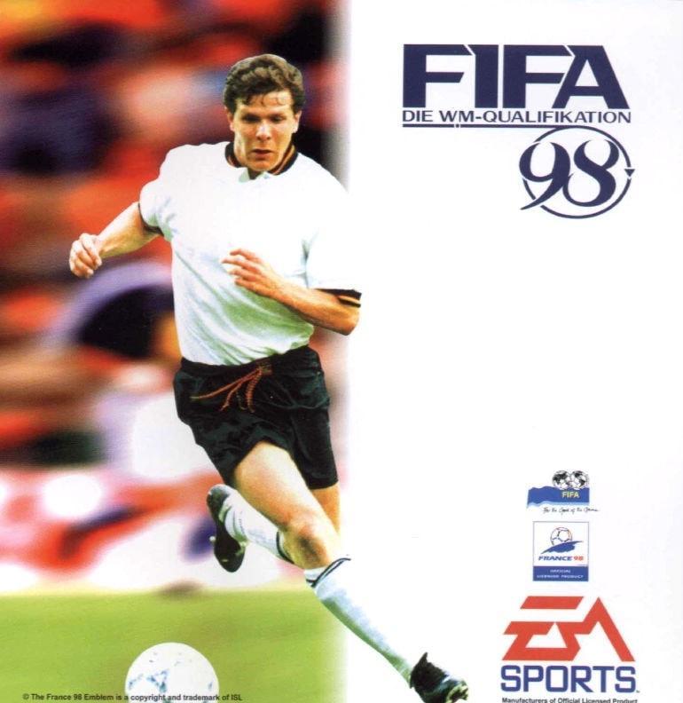 Cover FIFA 98 Andreas Möller