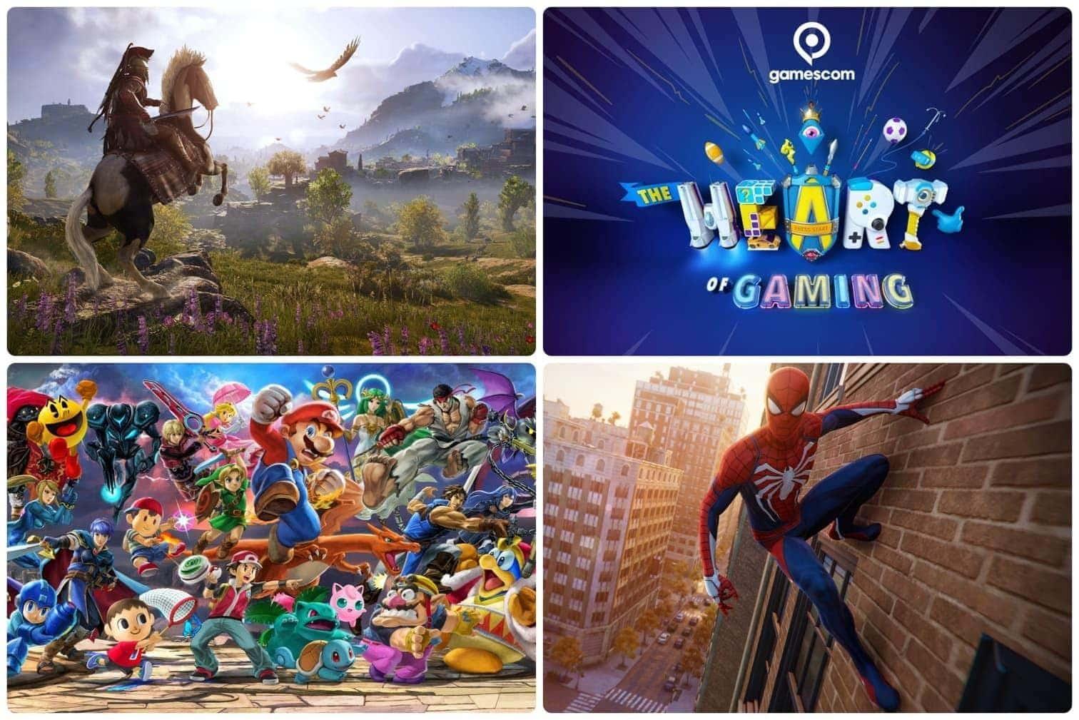 <p>Alle Highlights auf einen Blick: Wir zeigen euch die wichtigsten Titel der Gamescom 2018 in Köln!</p>