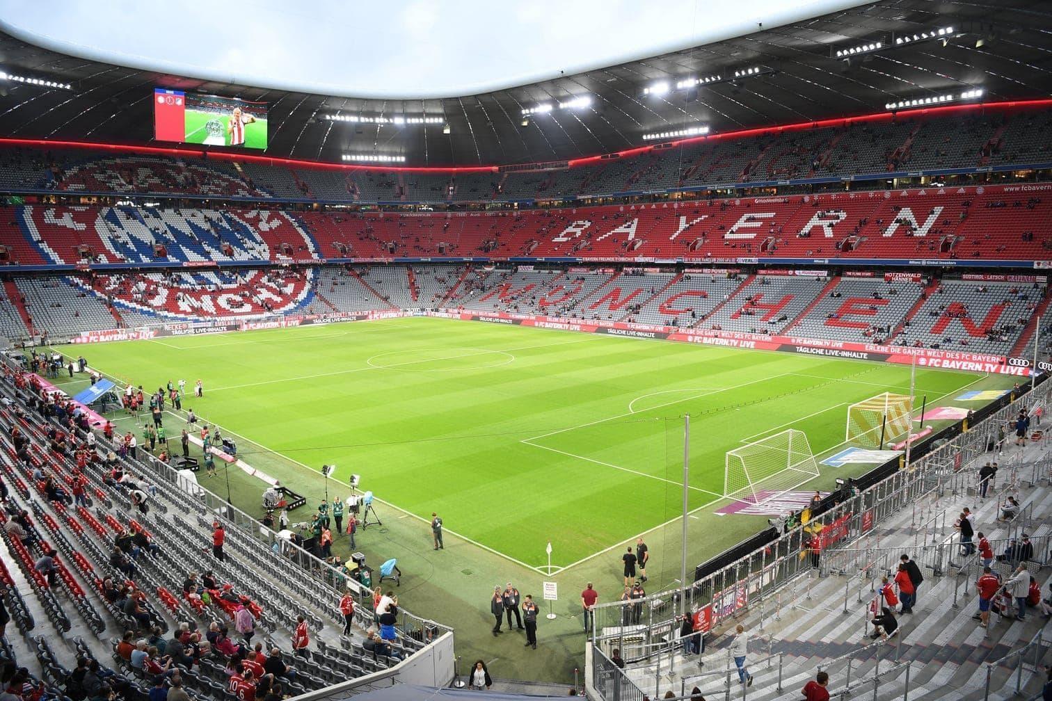 Arena AufSchalke<br />Kapazität: 49.471 Zuschauer<br />5 Spiele</p> Foto: dpa/Maja Hitij