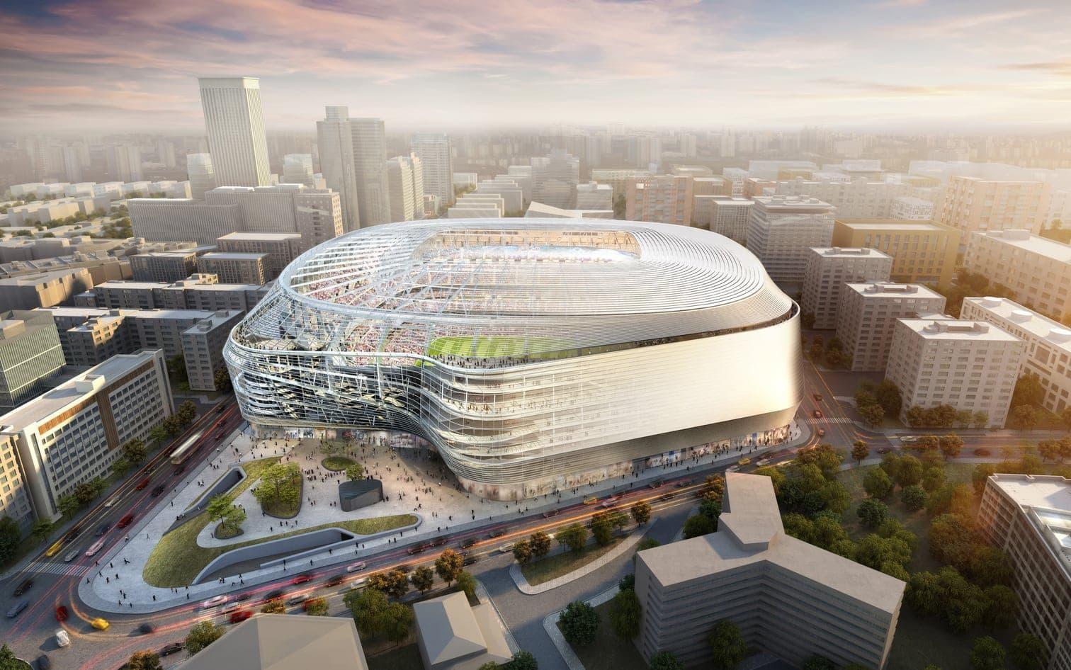 <p>Bis Ende 2022 will der Verein die Arbeiten fertigstellen.</p> Foto: Real Madrid C.F.