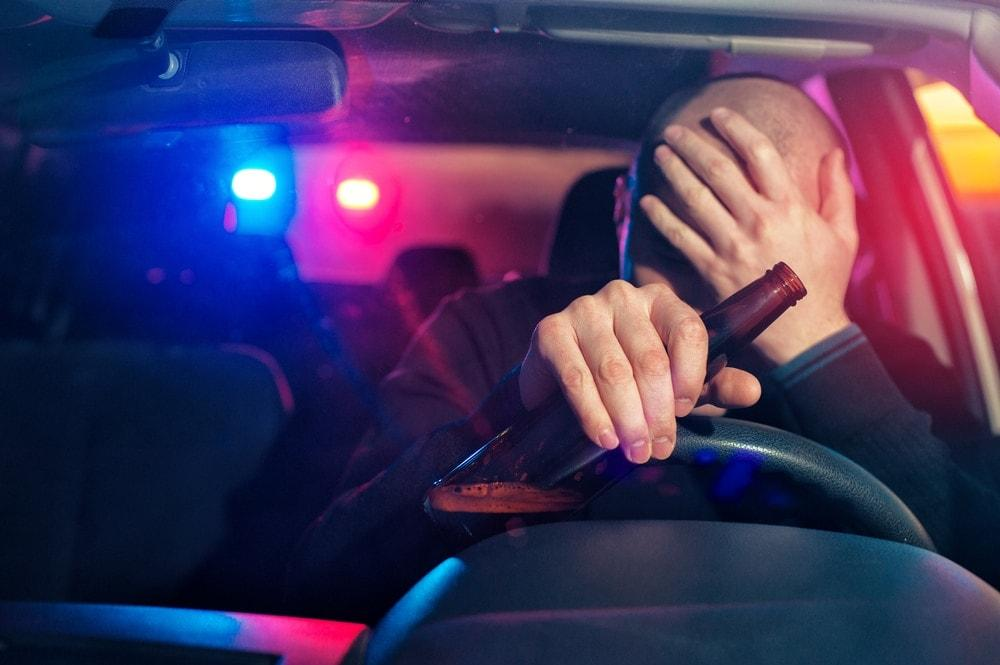Auto Alkohol betrunken