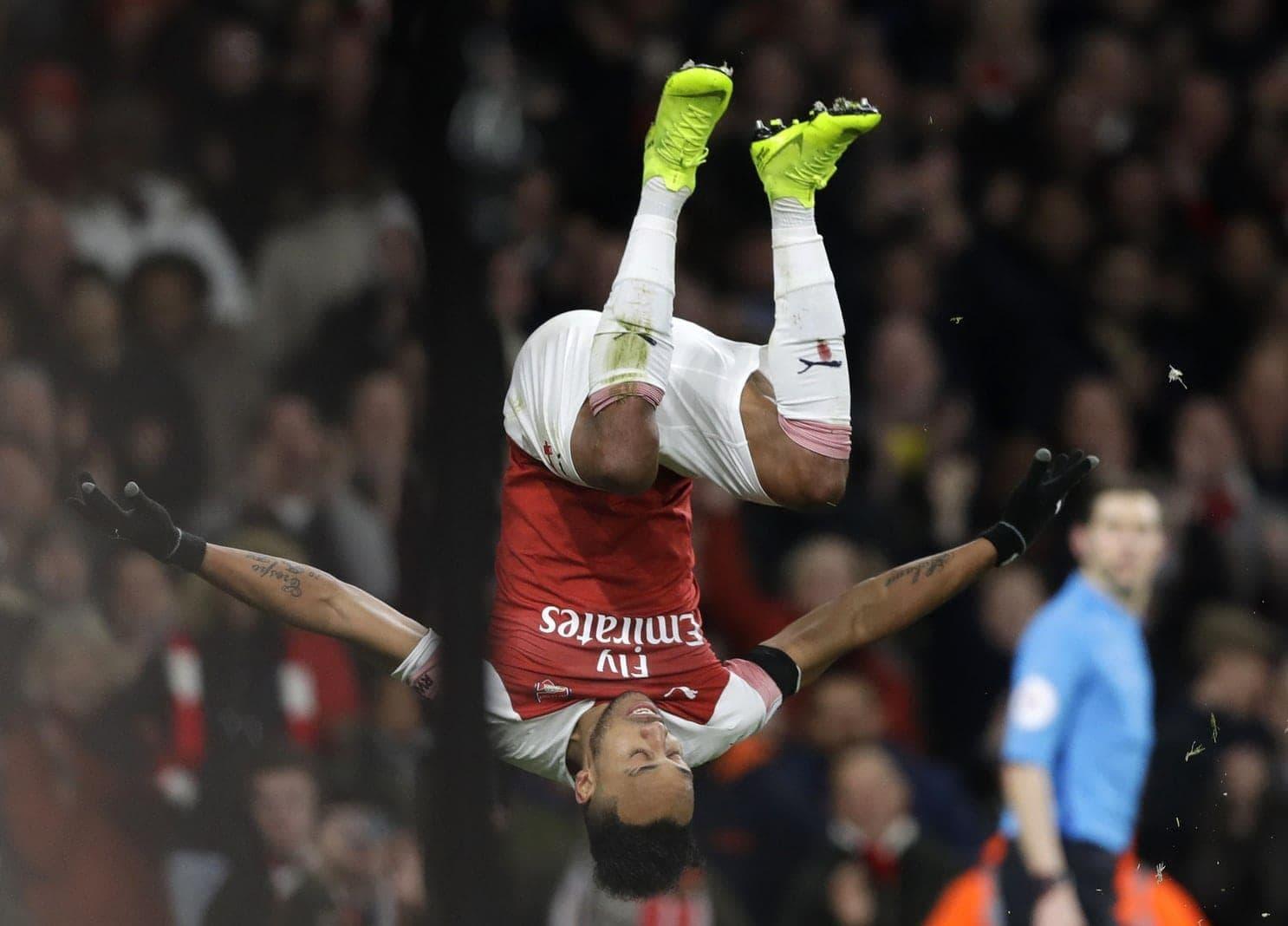 Pierre-Emerick Aubameyang Borussia Dortmund FC Arsenal