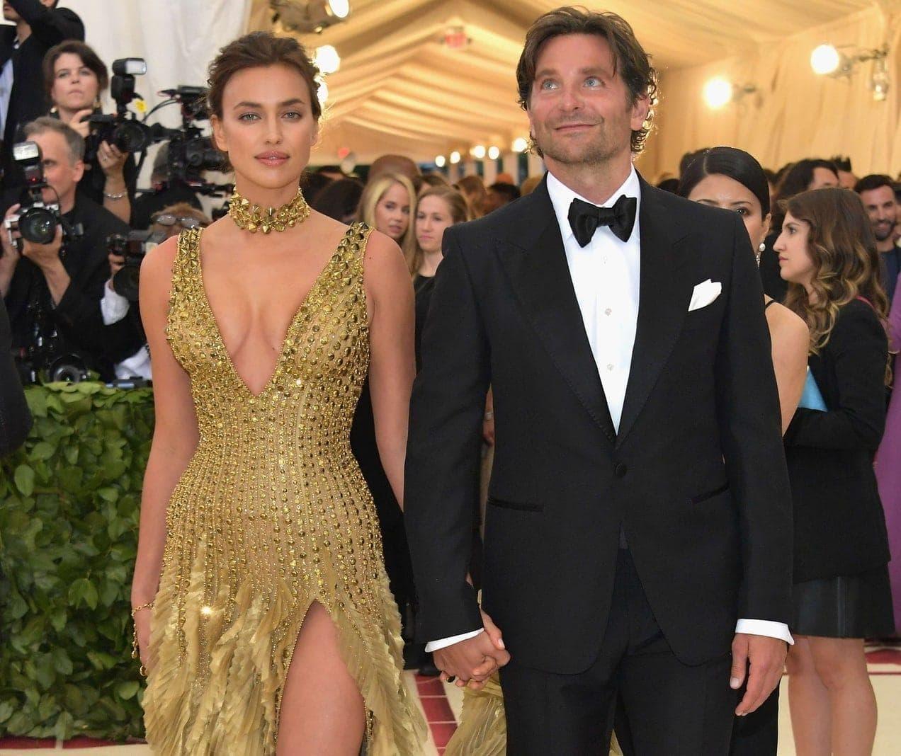 <p>Irina Shayk mit Bradley Cooper</p> Foto: dpa/afp