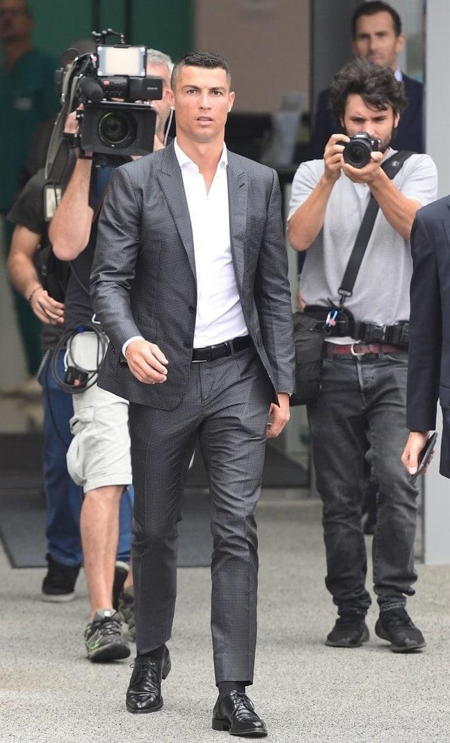 """<p>Damit steht Ronaldos Transfer zur """"Alten Dame"""" nichts mehr im Wege.</p> Foto: AFP"""
