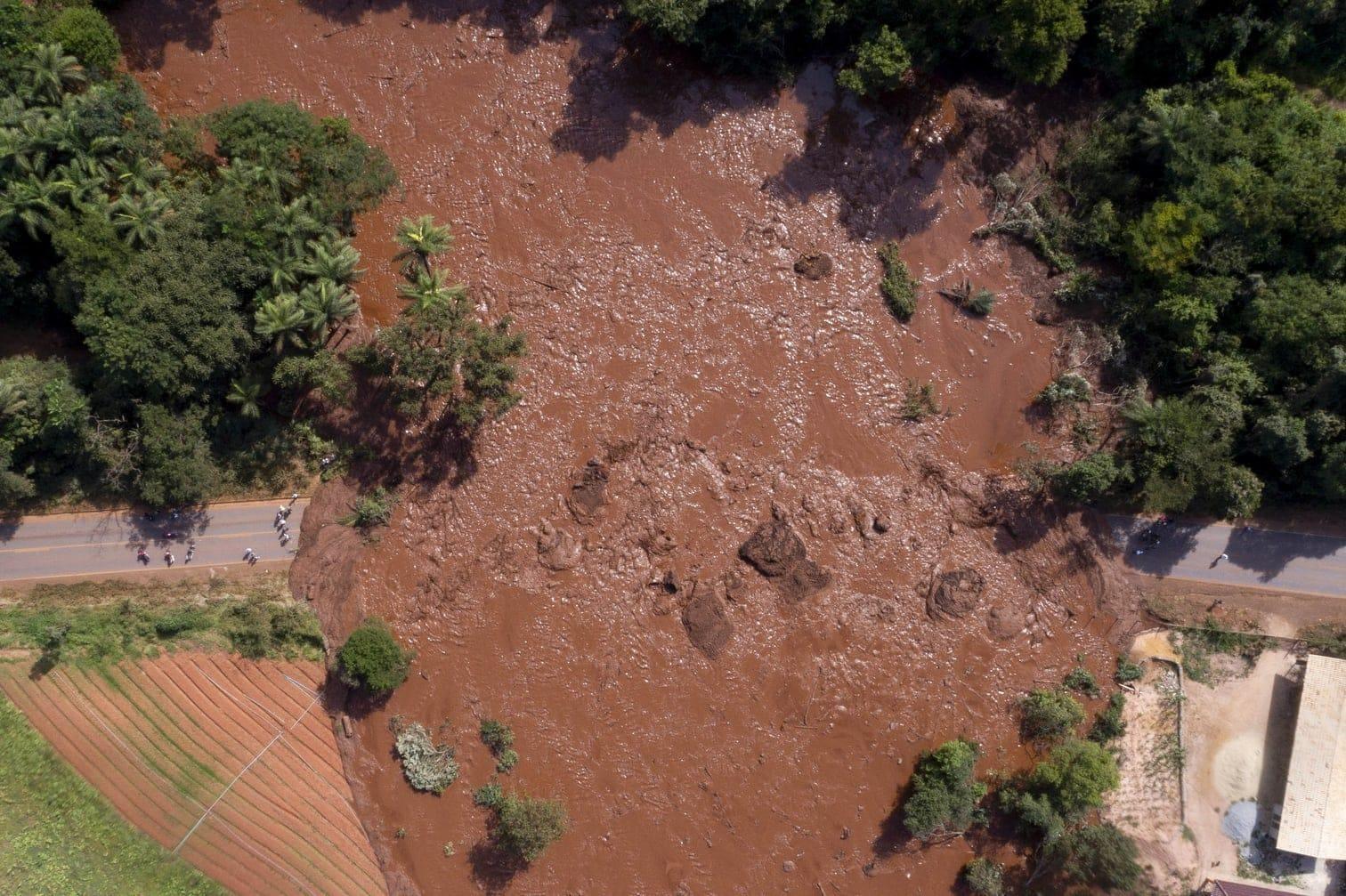 <p>Die Dammbruch-Katastrophe hatte sich in der Gemeinde Brumadinho im südöstlichen Bundesstaat Minas Gerais ereignet.</p> Foto: dpa/Isac Nobrega