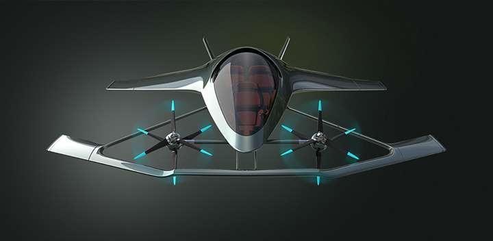 <p>Derzeit entwickeln mehrere Unternehmen ähnliche Fluggeräte für eine oder zwei Passagiere.</p> Foto: Hersteller