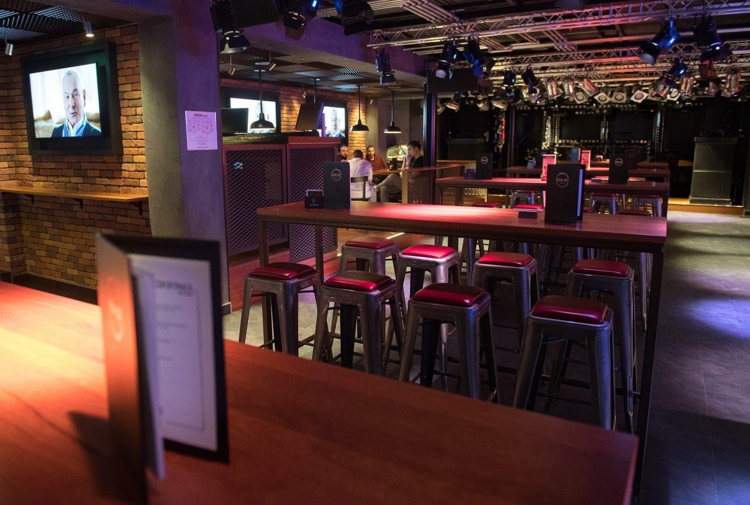 AIDAnova Bar