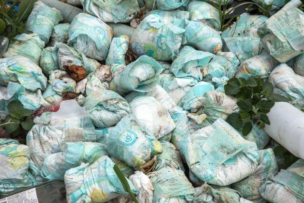 Windeln Müll
