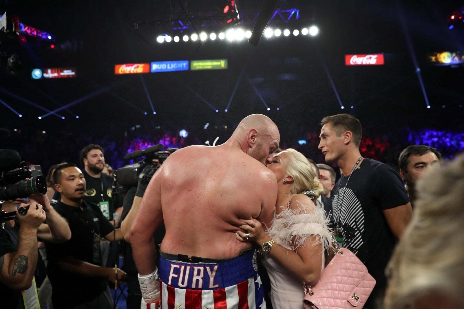 sagte Fury nach seinem klaren Sieg. Foto: John Locher/dpa