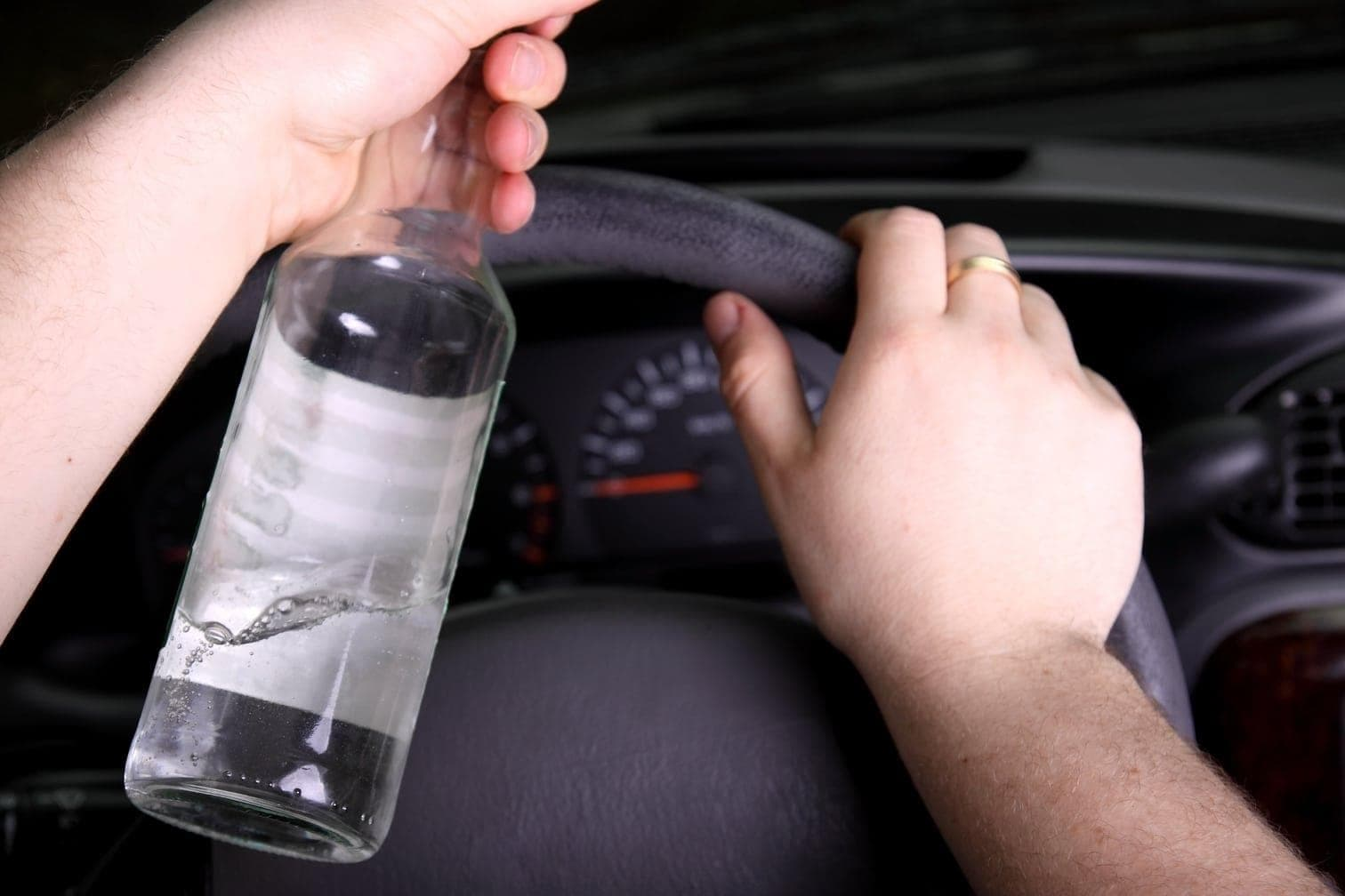 Alkohol am Steuer Auto