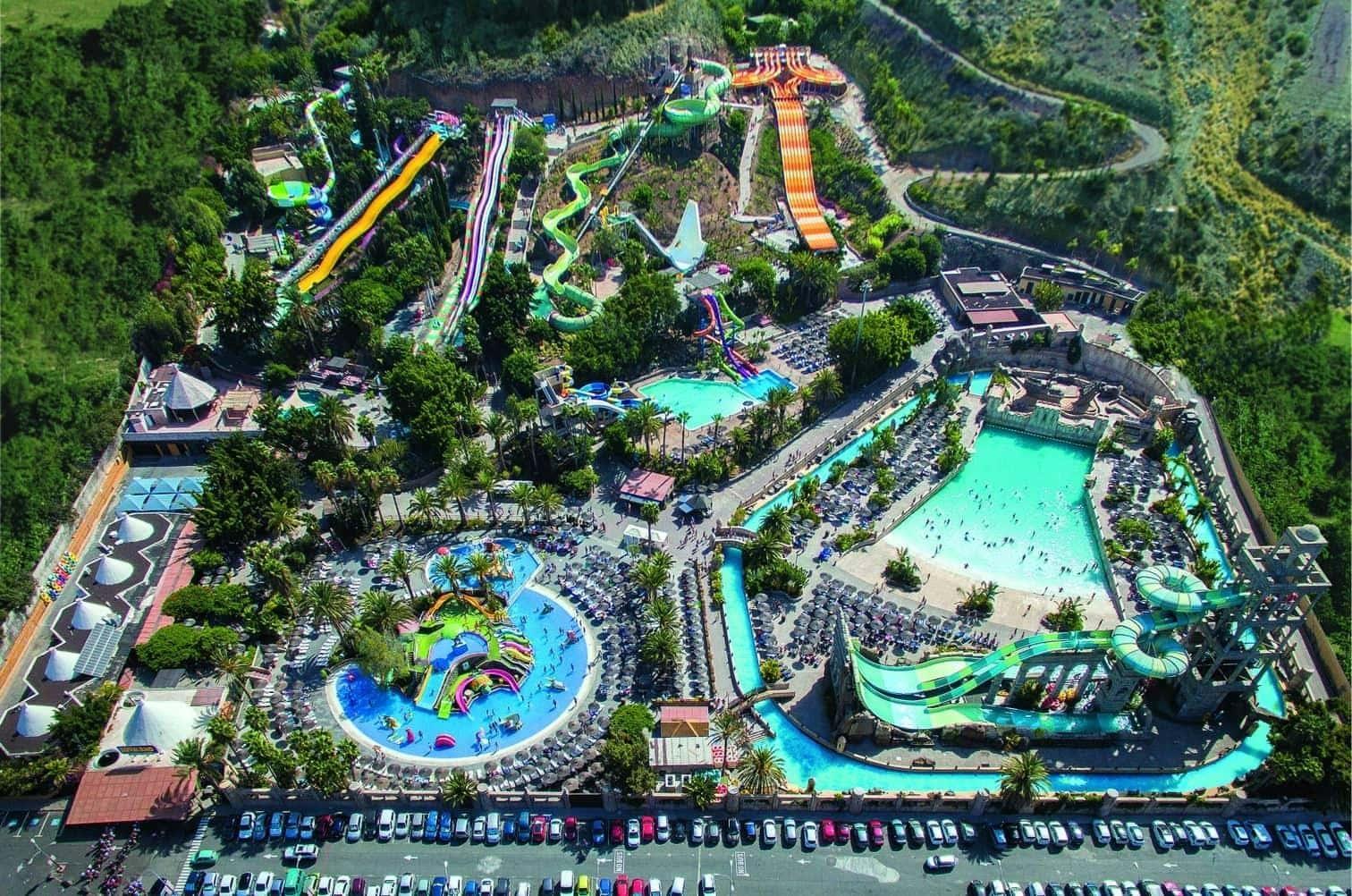 ein Wellenbad und ein Wasserspielplatz für die kleinsten Wasserratten.</p> Foto: travelcircus