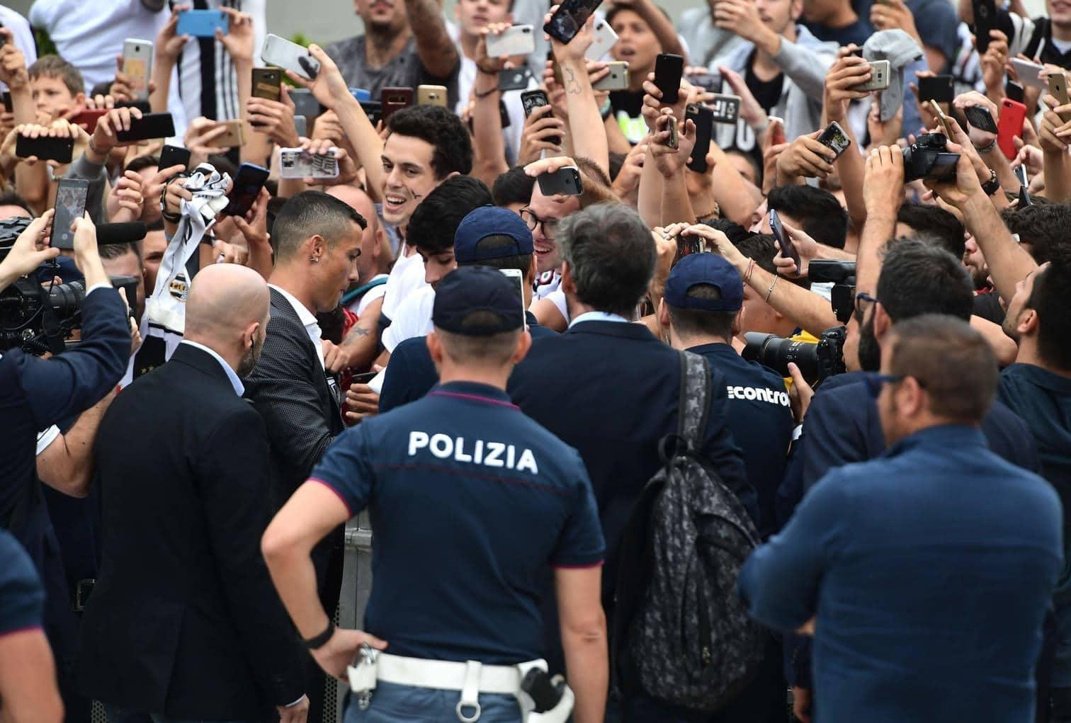 """Ronaldo ist für Italien ein """"Außerirdischer"""" und """"Lottogewinn"""" zugleich.&nbsp;</p> Foto: AFP"""