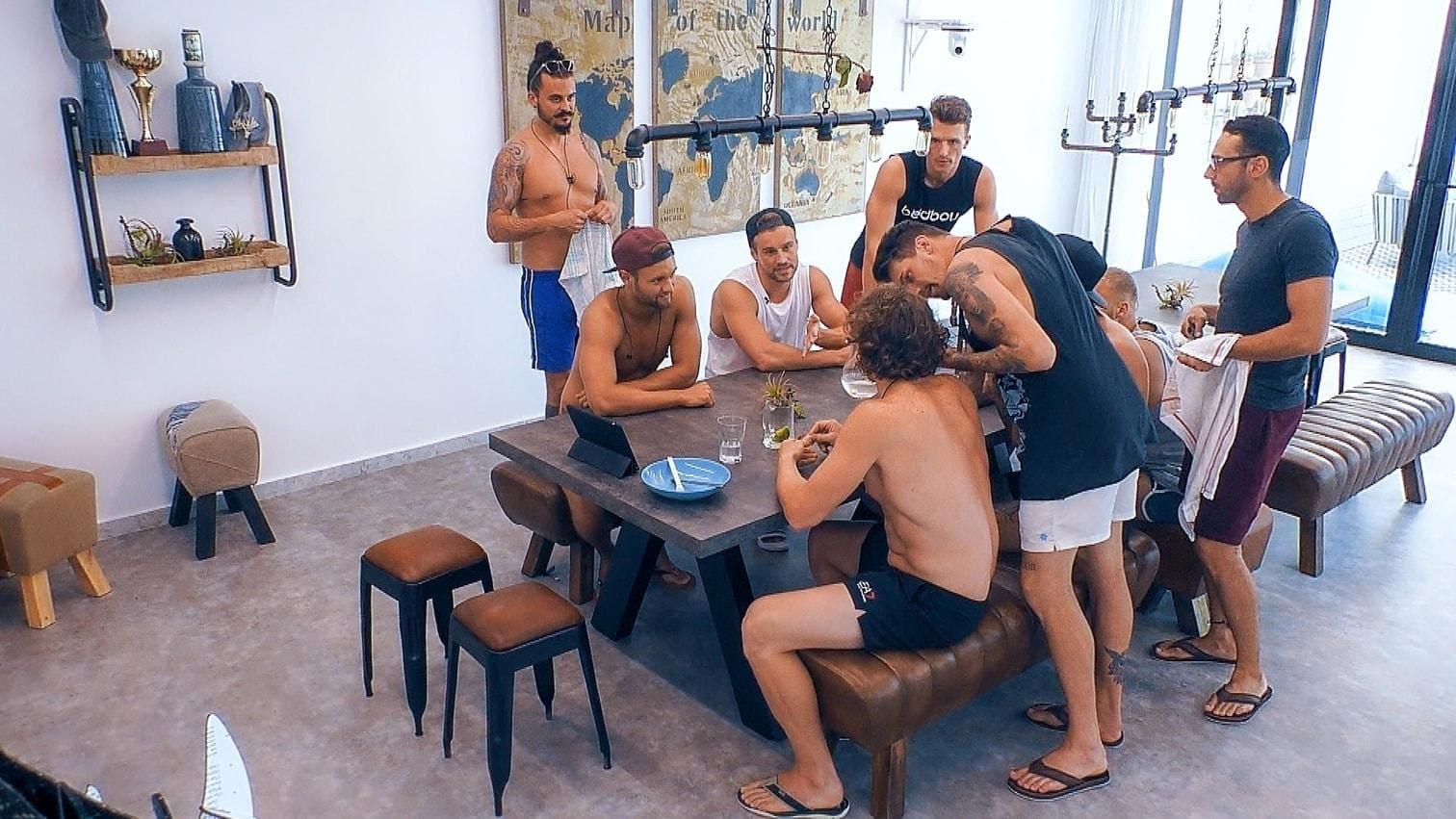 <p>Bei den anderen Jungs machte sich derweil Frust breit.</p> Foto: MG RTL D