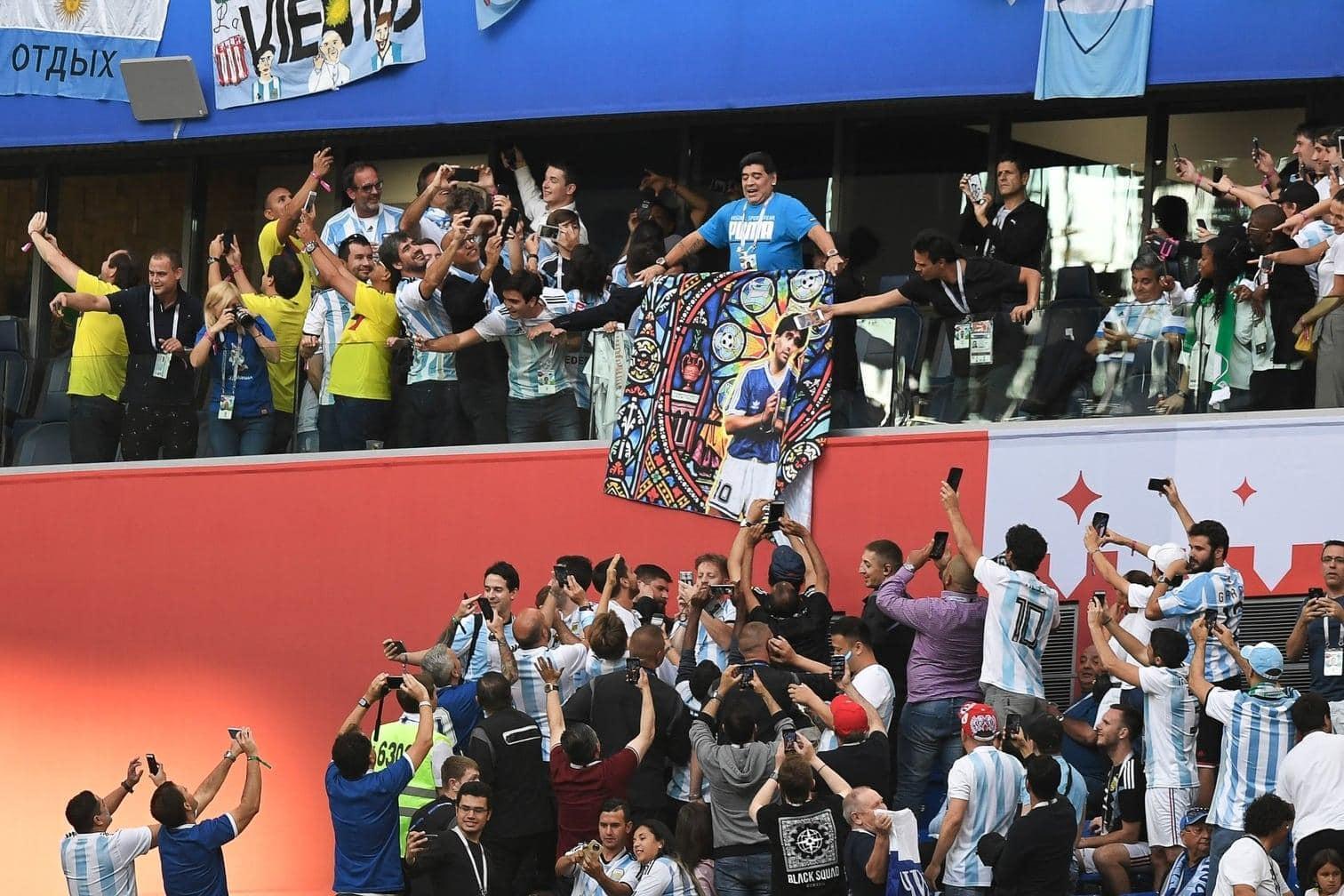 <p>Die Fans lieben ihn.</p> Foto: AFP
