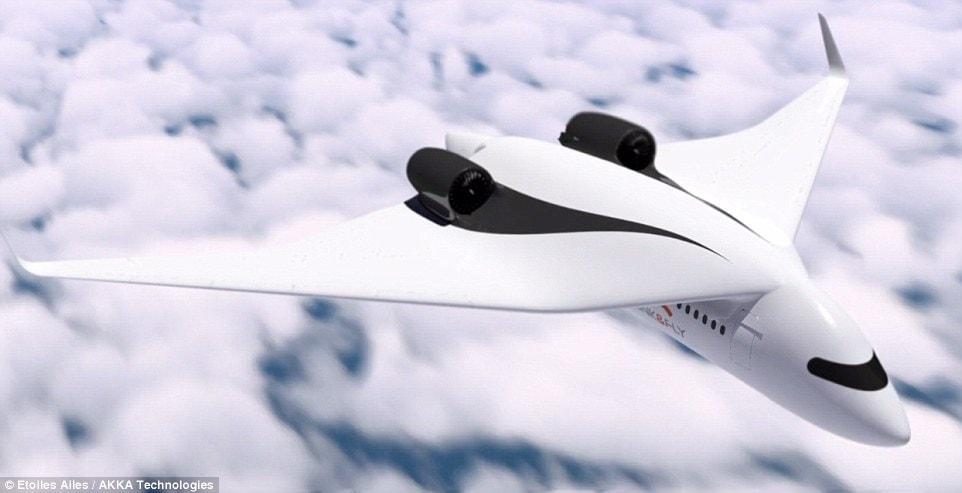 """<p>...und dort an ein stehendes Flugzeug angedockt wird.</p> Foto: Screenshot """"Akka Technologies"""""""