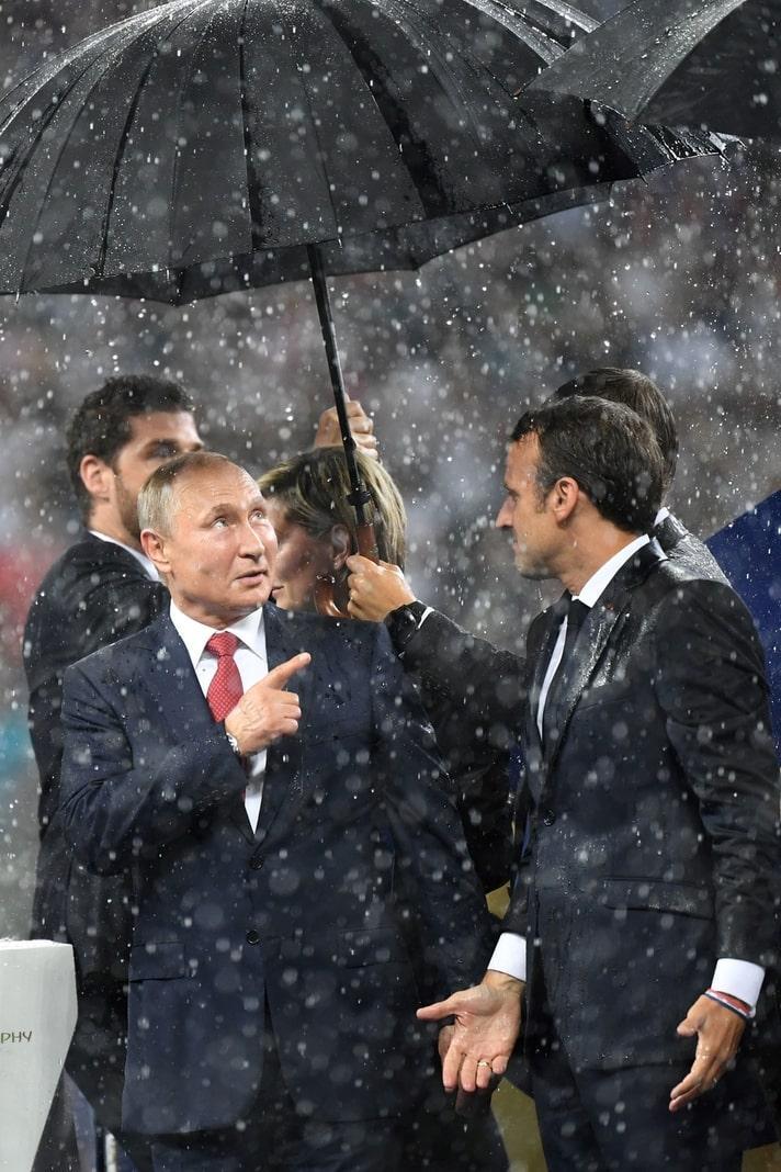 <p>Putin ist zwar trocken