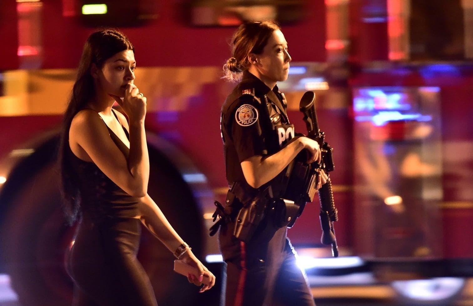 <p>Bei einer Schießerei im kanadischen Toronto sind neun Menschen verletzt worden.</p> Foto: dpa