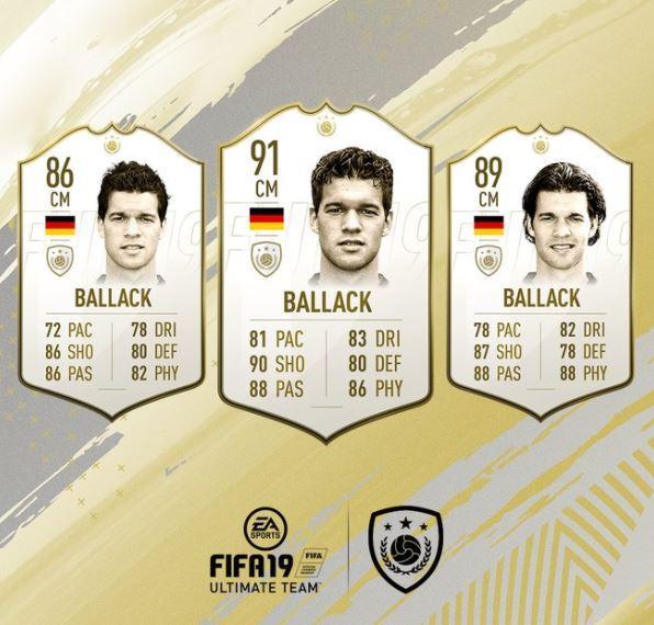 FIFA 19 Icon Michael Ballack