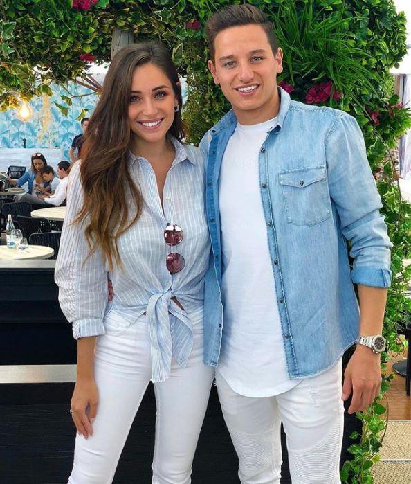 <p>Charlotte Pirroni ist die Freundin von Florin Thauvin.</p> Foto: Instagram/charlottepirroni