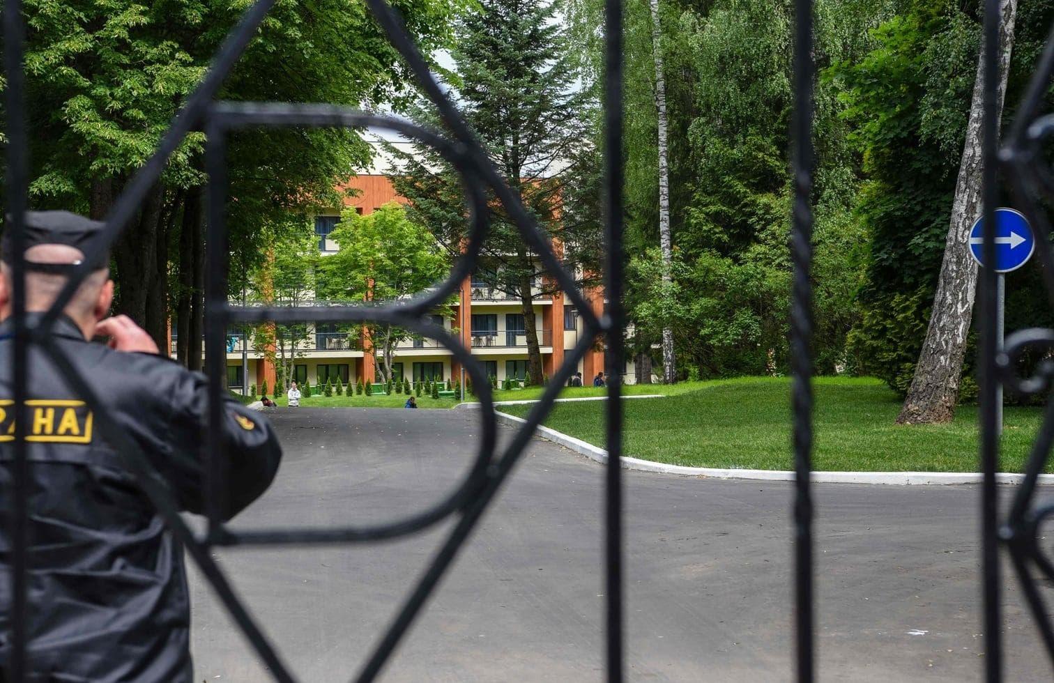 <p>Circa 95 Hektar Wald umgeben das Hotel.</p> Foto: AFP