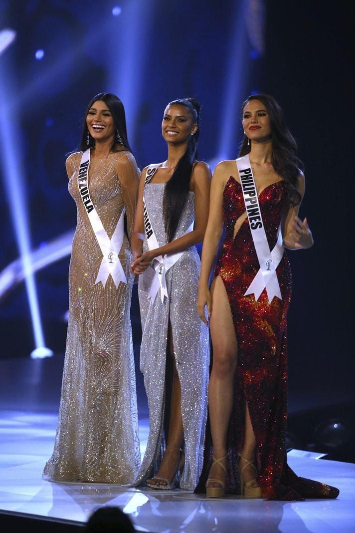 die im Vorjahr den Titel der Miss Universe erobert hatte.</p> Foto: dpa/Germanu Amarasinghe