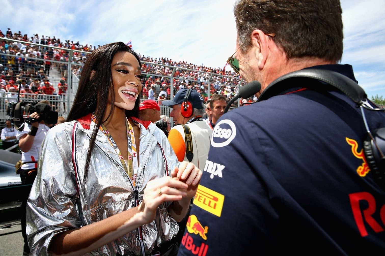 <p>Der viermalige Weltmeister wollte mit seinem Ferrari auf die 70. und letzte Runde fahren