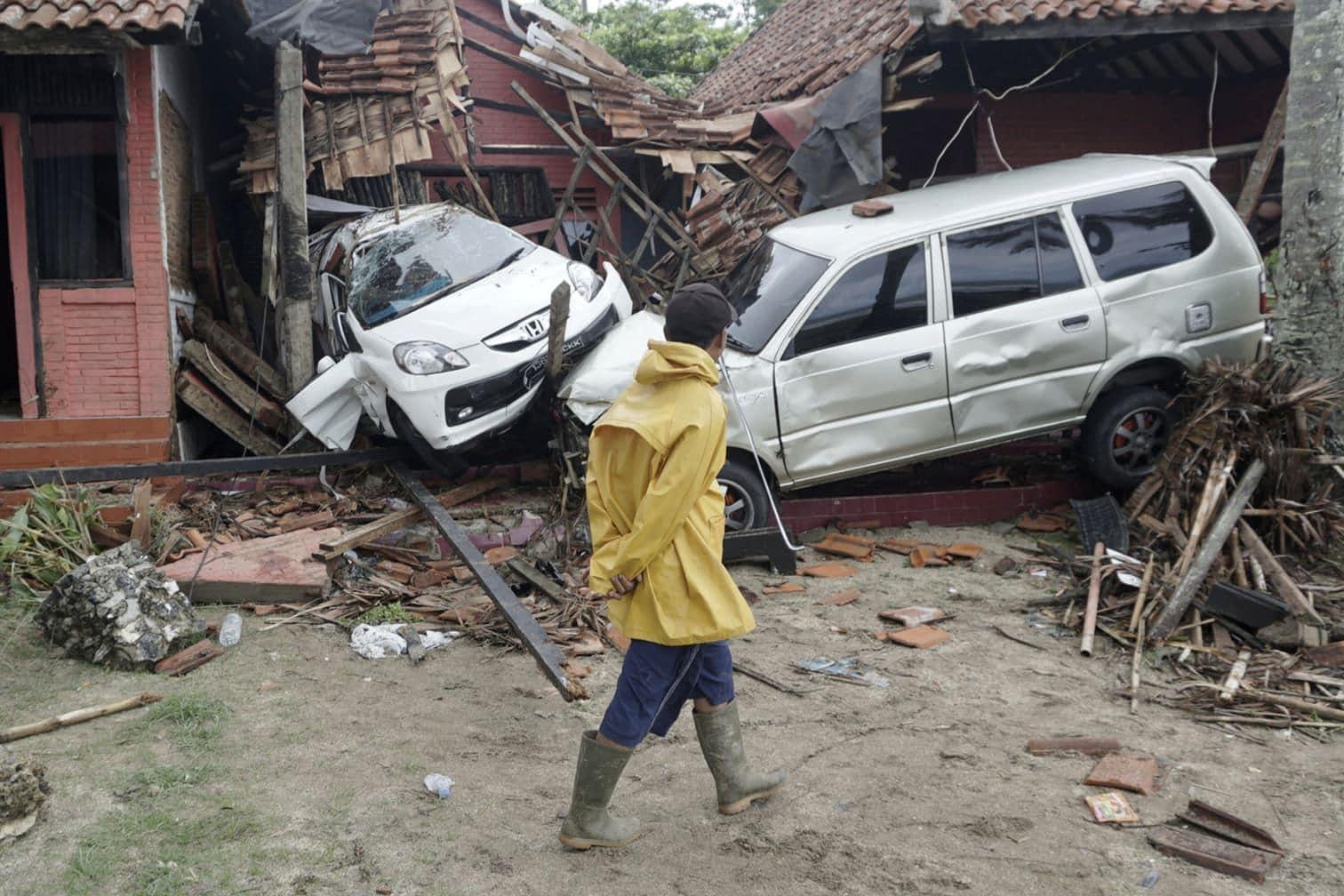 teilte ein Sprecher der Katastrophenschutzbehörde in Jakarta mit.</p> Foto: dpa/Dian Triyuli Handoko