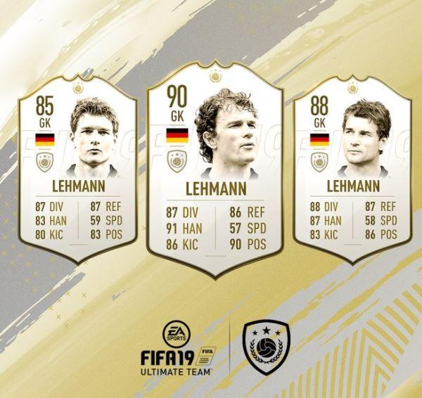 FIFA 19 Icon Jens Lehmann