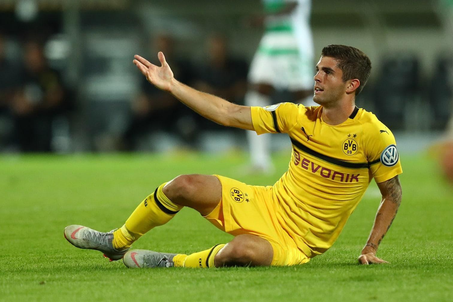 Christian Pulisic Borussia Dortmund FC Chelsea