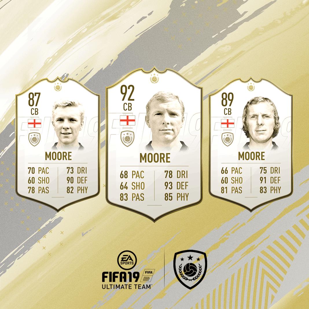 FIFA 19 Icon Bobby Moore
