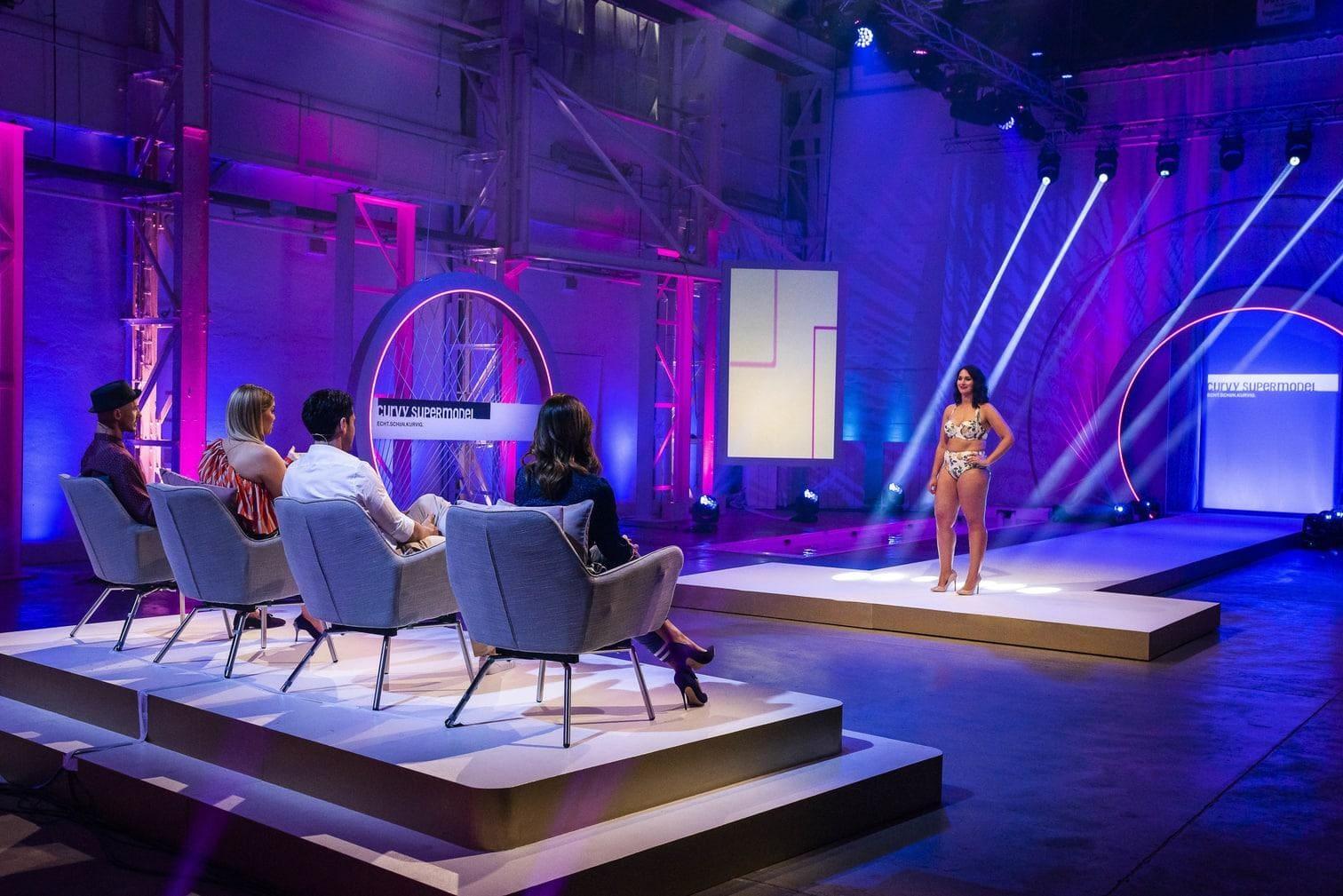 in dem Wort steckt das gleiche Wort wie in Übergewicht. Dabei suchen Kirsch und ihre drei Jury-Kollegen Model Jana Ina Zarrella