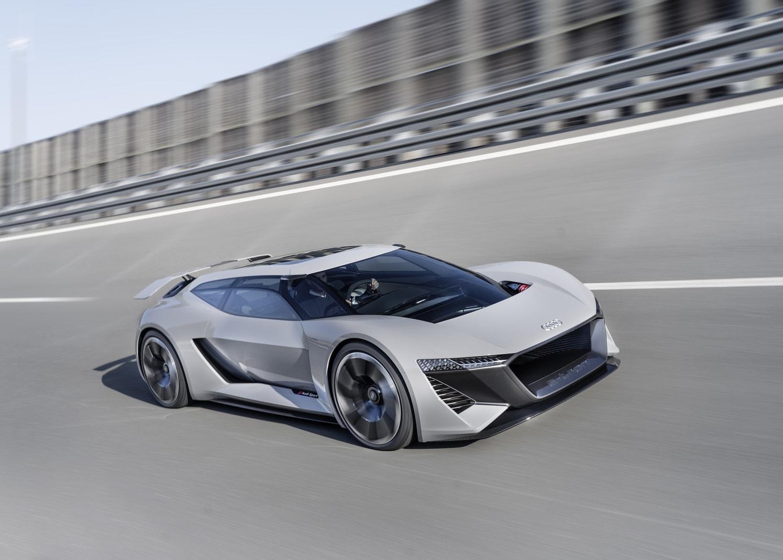 <p>Audi hatwährend der Monterey Car Week in Kalifornien seineDesignstudiePB18 vorgestellt.</p> Foto: AUDI AG