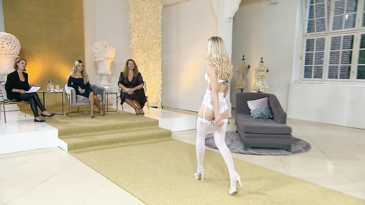 <p>Der Gewinnerin winkt eine gemeinsame Kampagne mit der 40-Jährigen und darüber hinaus 50.000 Euro.</p> Foto: MG RTL D / Stephan Pick