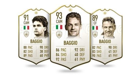 FIFA 19 Icon Roberto Baggio
