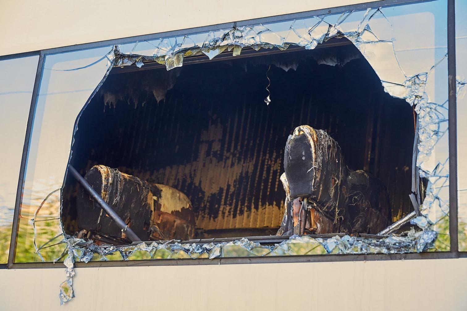 sagte eine Sprecherin. Zum Brandschutz gehörten schwer brennbare Materialien